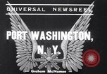 Image of Fog delays plane Port Washington New York USA, 1939, second 1 stock footage video 65675034123