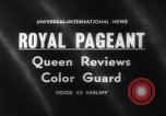 Image of Queen Elizabeth London England United Kingdom, 1961, second 2 stock footage video 65675034150