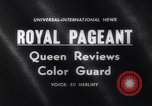 Image of Queen Elizabeth London England United Kingdom, 1961, second 4 stock footage video 65675034150