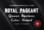 Image of Queen Elizabeth London England United Kingdom, 1961, second 5 stock footage video 65675034150