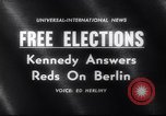 Image of John F Kennedy Washington DC USA, 1961, second 4 stock footage video 65675034157