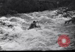 Image of Players do kayaking Czechoslovakia, 1961, second 4 stock footage video 65675034163