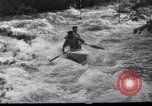 Image of Players do kayaking Czechoslovakia, 1961, second 5 stock footage video 65675034163