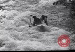 Image of Players do kayaking Czechoslovakia, 1961, second 7 stock footage video 65675034163