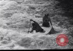 Image of Players do kayaking Czechoslovakia, 1961, second 8 stock footage video 65675034163