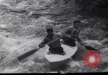 Image of Players do kayaking Czechoslovakia, 1961, second 9 stock footage video 65675034163