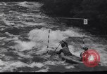 Image of Players do kayaking Czechoslovakia, 1961, second 12 stock footage video 65675034163