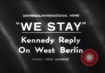 Image of John F Kennedy Washington DC USA, 1961, second 2 stock footage video 65675034175