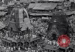Image of Lord Jagannath Puri Orissa India, 1961, second 10 stock footage video 65675034177