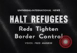 Image of East Berlin refugees Germany, 1961, second 1 stock footage video 65675034186