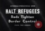 Image of East Berlin refugees Germany, 1961, second 4 stock footage video 65675034186