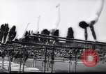 Image of gymnasts Stuttgart Germany, 1961, second 11 stock footage video 65675034190