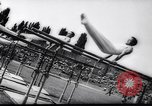 Image of gymnasts Stuttgart Germany, 1961, second 12 stock footage video 65675034190