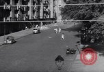 Image of East Berlin people escape over Berlin Wall Germany, 1961, second 8 stock footage video 65675034204