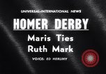 Image of Roger Maris 60th home run New York City USA, 1961, second 1 stock footage video 65675034205