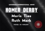 Image of Roger Maris 60th home run New York City USA, 1961, second 4 stock footage video 65675034205