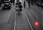 Image of side by side bicycle United States USA, 1961, second 8 stock footage video 65675034208