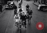 Image of side by side bicycle United States USA, 1961, second 10 stock footage video 65675034208