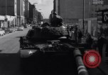 Image of M-48 tank Berlin Crisis Berlin West Germany, 1961, second 3 stock footage video 65675034220