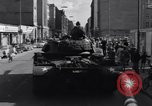 Image of M-48 tank Berlin Crisis Berlin West Germany, 1961, second 6 stock footage video 65675034220