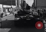 Image of M-48 tank Berlin Crisis Berlin West Germany, 1961, second 7 stock footage video 65675034220