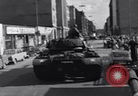Image of M-48 tank Berlin Crisis Berlin West Germany, 1961, second 10 stock footage video 65675034220