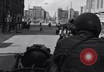 Image of Tank poised Berlin Crisis Berlin West Germany, 1961, second 8 stock footage video 65675034222