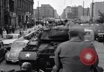 Image of buses enter East Berlin Berlin Germany, 1961, second 8 stock footage video 65675034223