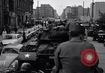 Image of buses enter East Berlin Berlin Germany, 1961, second 9 stock footage video 65675034223