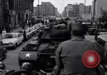 Image of buses enter East Berlin Berlin Germany, 1961, second 11 stock footage video 65675034223