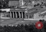 Image of Brandenburg Gate Berlin West Germany, 1961, second 6 stock footage video 65675034227