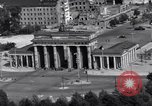 Image of Brandenburg Gate Berlin West Germany, 1961, second 8 stock footage video 65675034227