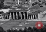 Image of Brandenburg Gate Berlin West Germany, 1961, second 9 stock footage video 65675034227