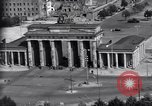 Image of Brandenburg Gate Berlin West Germany, 1961, second 11 stock footage video 65675034227