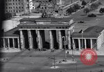 Image of Brandenburg Gate Berlin West Germany, 1961, second 12 stock footage video 65675034227