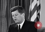 Image of John F Kennedy Washington DC USA, 1961, second 2 stock footage video 65675034235