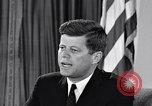 Image of John F Kennedy Washington DC USA, 1961, second 9 stock footage video 65675034235