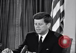 Image of John F Kennedy Washington DC USA, 1961, second 8 stock footage video 65675034236