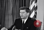 Image of John F Kennedy Washington DC USA, 1961, second 9 stock footage video 65675034236