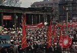 Image of May Day Parade East Berlin Germany, 1961, second 9 stock footage video 65675034243