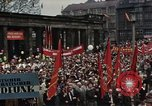 Image of May Day Parade East Berlin Germany, 1961, second 10 stock footage video 65675034243
