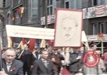 Image of May Day parade East Berlin Germany, 1961, second 1 stock footage video 65675034244