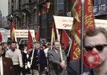 Image of May Day parade East Berlin Germany, 1961, second 3 stock footage video 65675034244