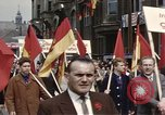 Image of May Day parade East Berlin Germany, 1961, second 5 stock footage video 65675034244