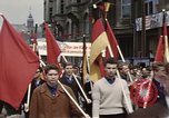 Image of May Day parade East Berlin Germany, 1961, second 6 stock footage video 65675034244