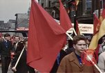 Image of May Day parade East Berlin Germany, 1961, second 8 stock footage video 65675034244