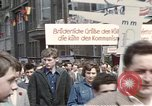 Image of May Day parade East Berlin Germany, 1961, second 11 stock footage video 65675034244