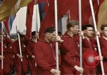 Image of May Day Parade East Berlin Germany, 1961, second 3 stock footage video 65675034246