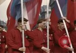 Image of May Day Parade East Berlin Germany, 1961, second 6 stock footage video 65675034246