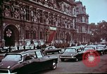 Image of John F Kennedy Paris France, 1961, second 6 stock footage video 65675034256